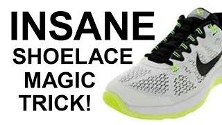SHOCKING 'SHOELACE MAGIC TRICK' REVEALED!