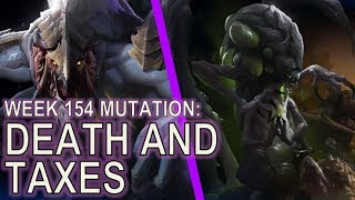 Starcraft II: Death and Taxes [Difference Between Two Swarmhosts]