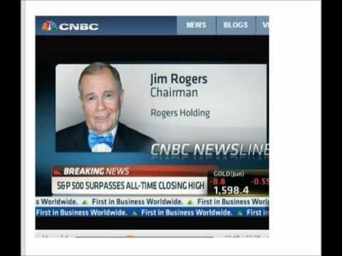 Jim Rogers on CNBC - Get your Money out of the Banks!  Reporter agreed.