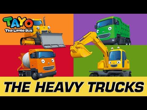 [Meet Tayo's Friends] #3 The Heavy Vehicles