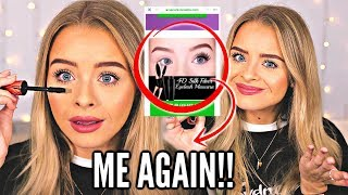 HERE WE GO AGAIN.. THEY USED ME TO ADVERTISE THEIR MASCARA.. WHICH I HAD NEVER USED, SO I BOUGHT IT