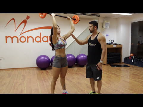 Exercícicos para perder barriga e aumentar massa muscular