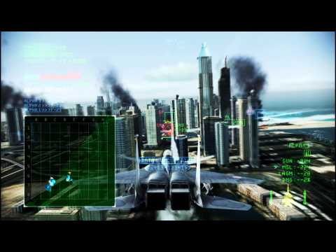ACE COMBAT INFINITY #287-#3:Dubai Night Assault(HARD) F-15 S/MTD 68379pts