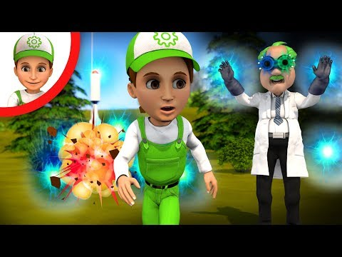Винтик и полиция против Доктора Зло и Ирмы - Сборник мультфильмов 2018