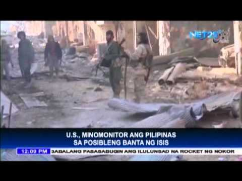 US monitors ISIS threat in the Philippines
