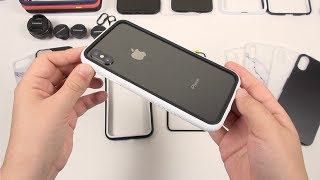 iPhone X: Most Awesome Case! (RhinoShield Mod Modular)