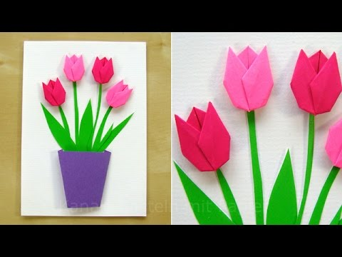 Runde Blumen Basteln Mit Papier Servietten Deko Selber Machen Diy