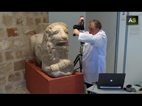 AS 3D for one of the biggest archaeological finds in the world, Cástulo's Lion