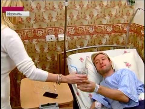 Евгений Плющенко после операции.Сюжет Первого канала.