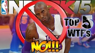 TOP 5 WTF's I Don't Want To See In NBA 2K16