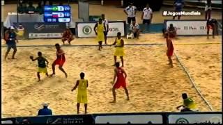 Beach Handball: Brasil x Rússia COMPLETO - World Games 2013 Final - TV Esporte Interativo