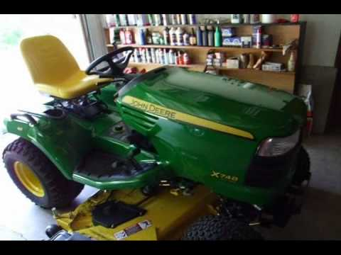 2010 John Deere X748 Ultimate quick look.