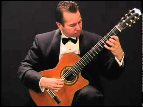 Canarios by Gaspar Sanz, Eric Larkins classical guitar
