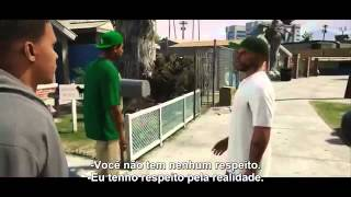 GTA V  Novos trailers legendados! - Michael, Franklin e Trevor 2013 HD