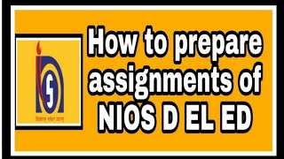 How To Prepare An Assignment