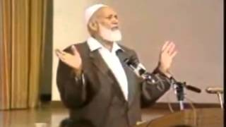 Ahmed Deedat Answer feat Nouman Ali Khan – Does God require Jesus's blood to forgive us