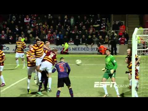 Bradford City Vs Arsenal 1(3)x(2)1 11/12/12 HD