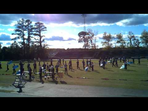 Triton high school marching hawks 2011
