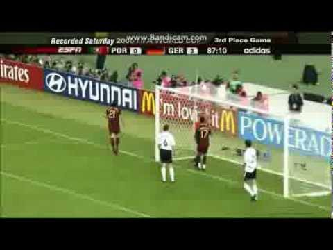 Germany vs Portugal 3-1 2006 FIFA World Cup 3rd Place Playoff highlights