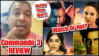 Commando 3 Detailed Review l A Great Action Film For The Film Lovers