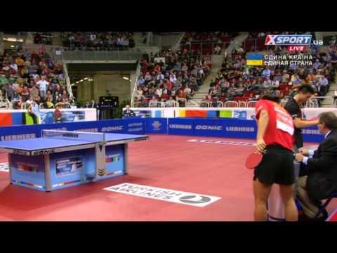 Table Tennis World Cup 2014 final Ma long vs Zhang Jike