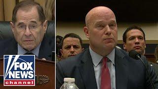 Whitaker, Nadler spar over Robert Mueller's investigation