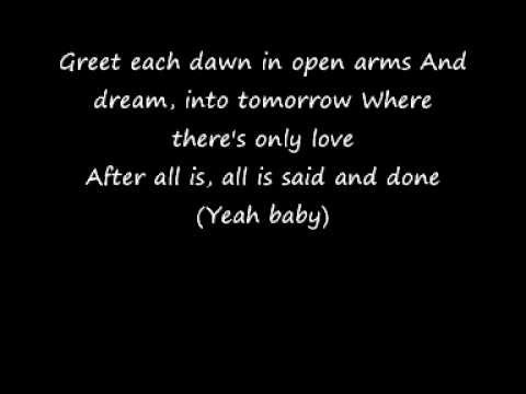 Beyonce Knowles - After All Is Said And Done Lyrics ...