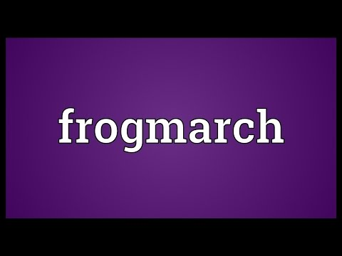 Header of frogmarch