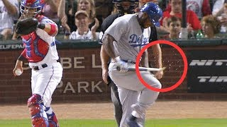 "MLB Angry ""Bat Breaking Monster"" Moments ᴴᴰ"