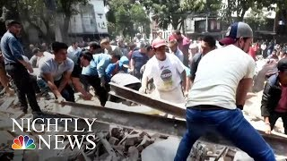 7.1-Magnitude Earthquake Rattles Mexico City | NBC Nightly News