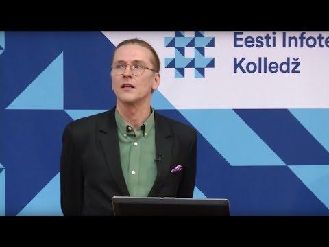 Public lecture by Mikko Hyppönen at Estonian Information Technology College