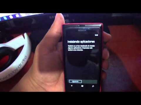 Nokia lumia 505 quitar codigo patron seguridad bloqueo master reset hard reset