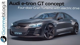 Audi e-tron GT concept - INTERIOR and DESIGN