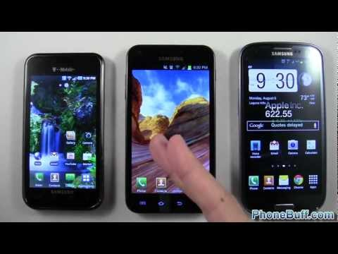 Samsung Galaxy S1 vs. S2 vs. S3. How The Galaxy Has Changed Over Time