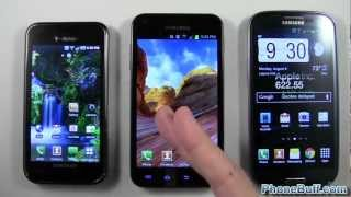 Samsung Galaxy S1 vs. S2 vs. S3, How The Galaxy Has Changed Over Time