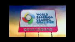 2013 WORLD BASEBALL CLASSIC - graphic open for the 2013 WBC series