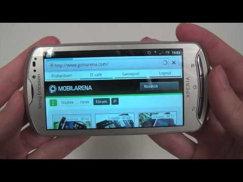 Sony Ericsson Xperia pro hands-on (5)