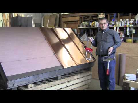 Standing Seam Metal Roofing Installation Basics Part 2