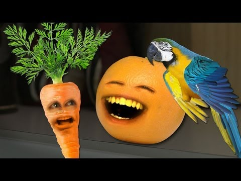 Annoying Orange - Garret the Parrot