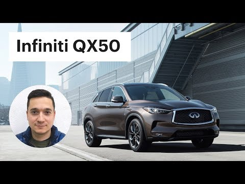 Такого от Инфинити не ожидали. Обзор Infiniti QX50 2018