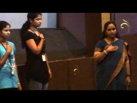 Indian National Anthem In Indian Sign Language + video