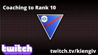 Coaching to Rank 10 (Simpmab) | Go Battle League