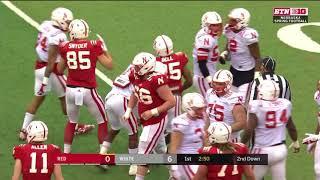 2018 Nebraska Spring Game In 40 minutes (Full Game)