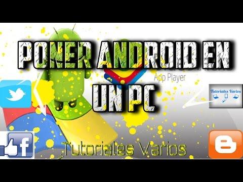 Como Descargar Bluestacks  Poner Android en Nuestra PC