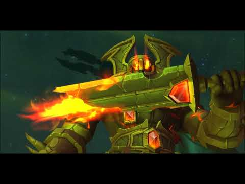 World of Warcraft - Apparition d'Aggramar sur Argus