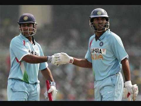 Yuvraj and Dhoni Video