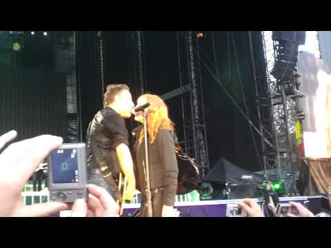 'Easy Money' Bruce Springsteen&Patti Scialfa. RDS Dublin, 18th July 2012