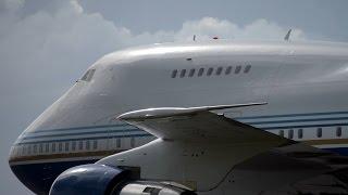 Las Vegas Sands Corp. Boeing 747SP-21(VQ-BMS) departing & arriving @ Las Vegas