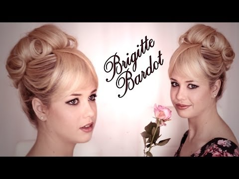 Brigitte Bardot hair and makeup tutorial with EnjoyPhoenix