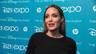Angelina Jolie Interview   move Maleficent